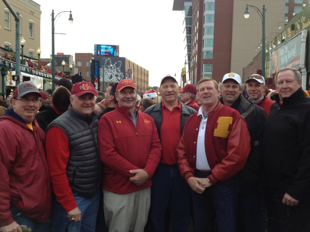 Celebrate Bowl Week in Style!  Iowa State players reunion at the Liberty Bowl