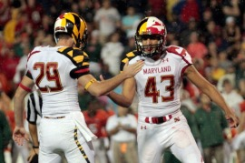 This Under Armor design created quite a buzz on social media on opening weekend of the 2011 season.