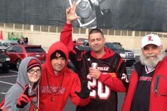 Louisville football is a family affair