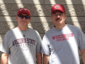 Friends still debating September's Wisconsin - Arizona State football game