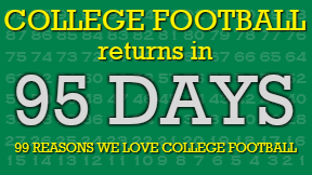 95 Days until you can spend all Saturday watching football