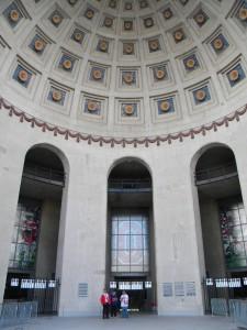 The rotunda at Ohio Stadium