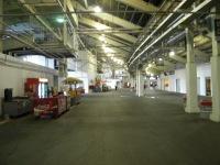 The wide concourse at Ohio Stadium