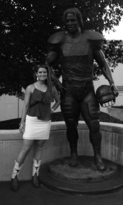 With Ricky Williams