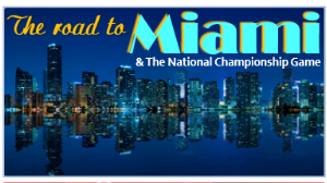 When the BCS National Championship Game was in South Florida, our blog The Road to Miami