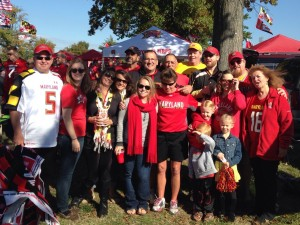 The Kross family tailgate