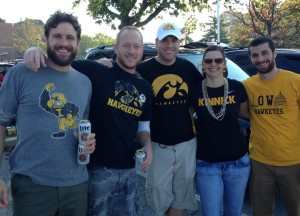 Roadtripping friends of Herky.