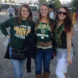 Colorado State fans ready for the Las Vegas Bowl