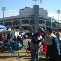 Gameday in Memphis - Tigers fans can stop singing the Blues