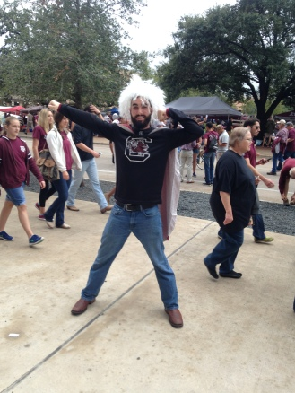 South Carolina made its first-ever trip to College Station
