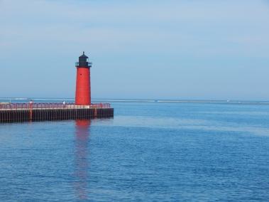 Leaving Milwaukee harbor