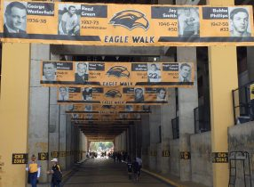 The Eagle Walk at Southern Miss