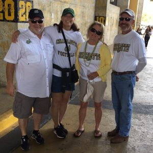 49ers fans at Southern Miss